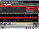 {Quasar} Playlist view with activated playlist overview