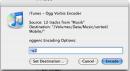 {iTunesAlternativeEncoders} Settings dialog of the Ogg Vorbis Encoder script