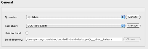 Integrating Qt Creator with Scratchbox in Mac OS X environment